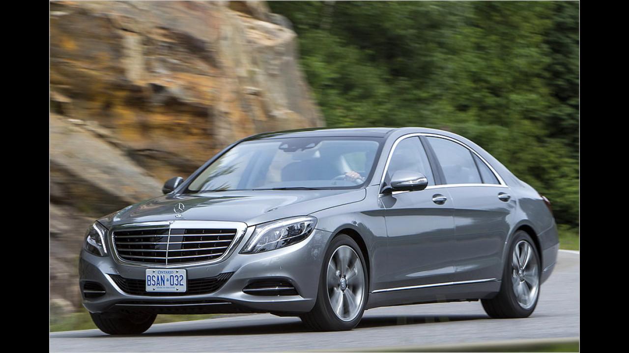 Mercedes: S-Klasse Langversion?
