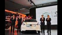 Protótipo elétrico: Chevrolet Sail EV é apresentado na China