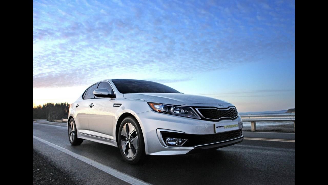 """Kia Optima é eleito o """"Melhor de 2011"""" pelo site Cars.com"""