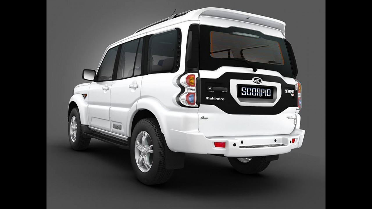 Mahindra surpreende com visual polêmico do novo Scorpio na Índia