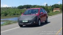 Leitor flagra comboio do novo Ford Fiesta 2011 em rodovia que liga Sergipe a Bahia