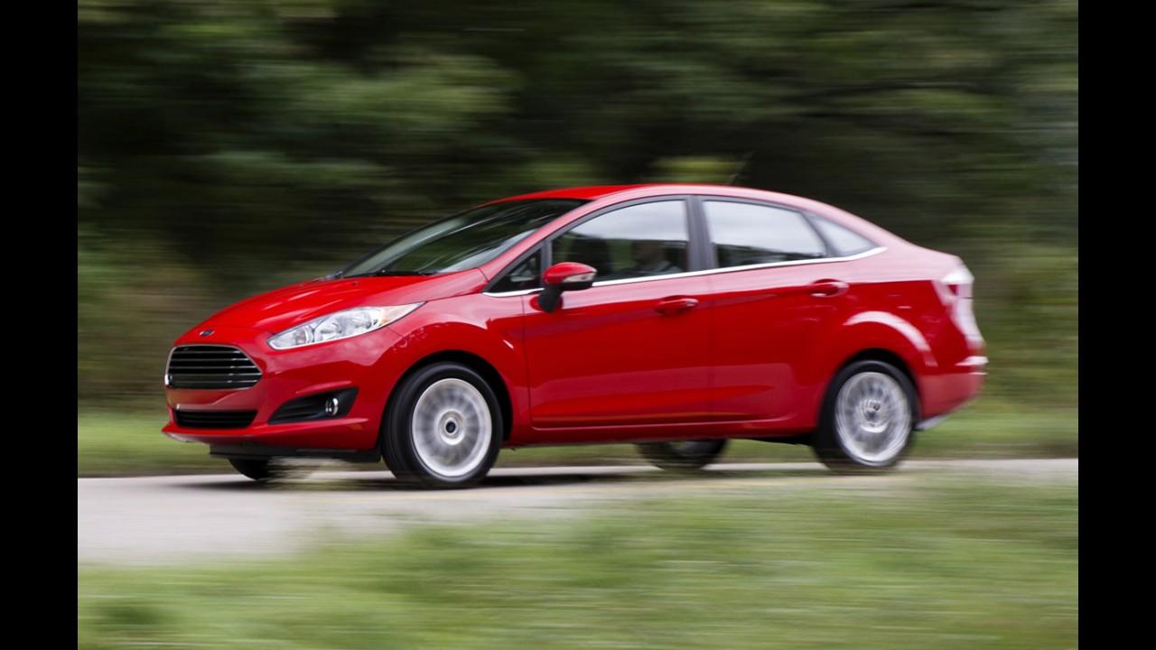 New Fiesta se salva e Sonic despenca entre os sedãs compactos em junho