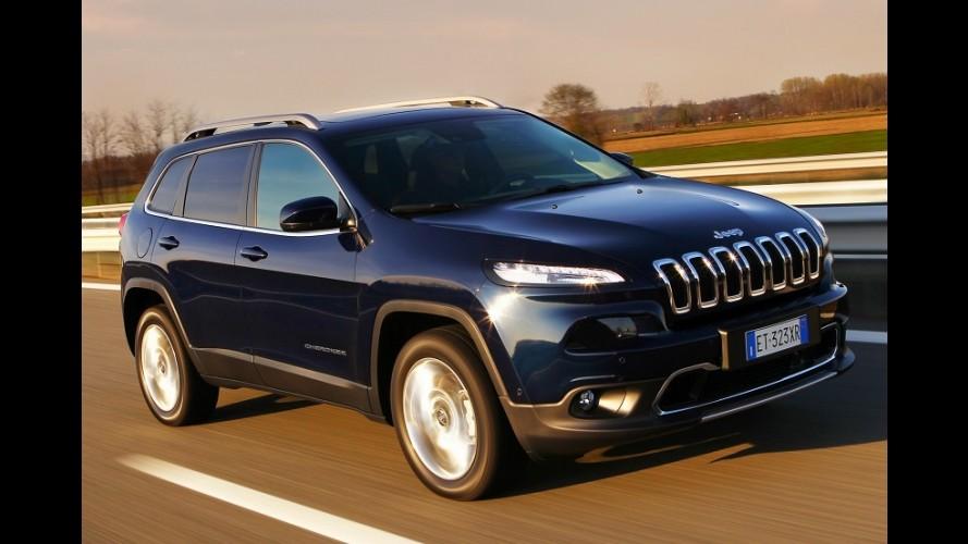 Novo Jeep Cherokee chega ao Brasil em versão única por R$ 174,9 mil