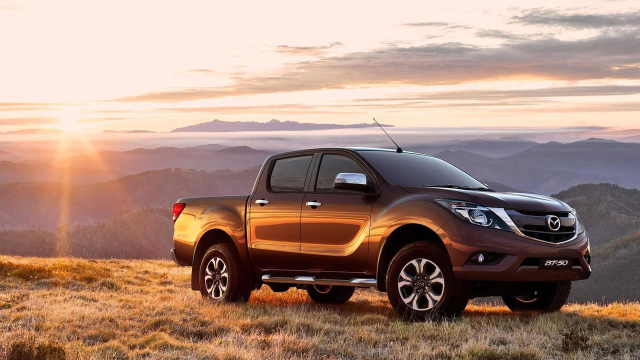 2016 Mazda BT-50 facelift