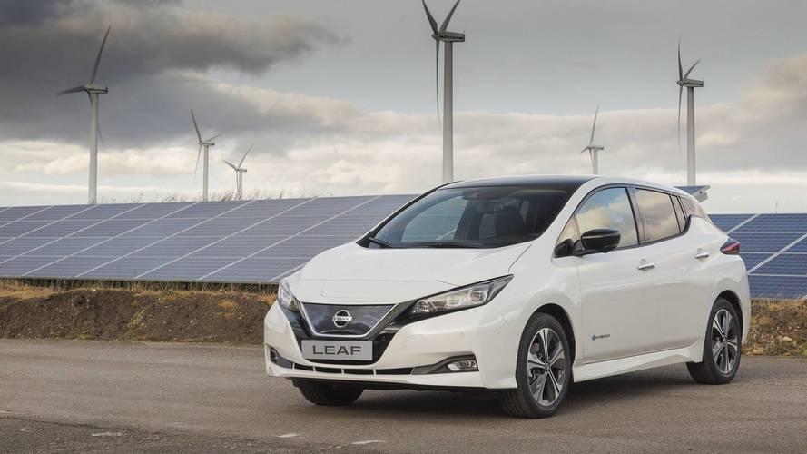 2018 Nissan Leaf production starts in Sunderland