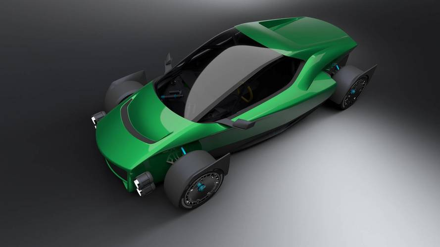 1,341-HP Electric Supercar Is Quicker Than The New Tesla Roadster