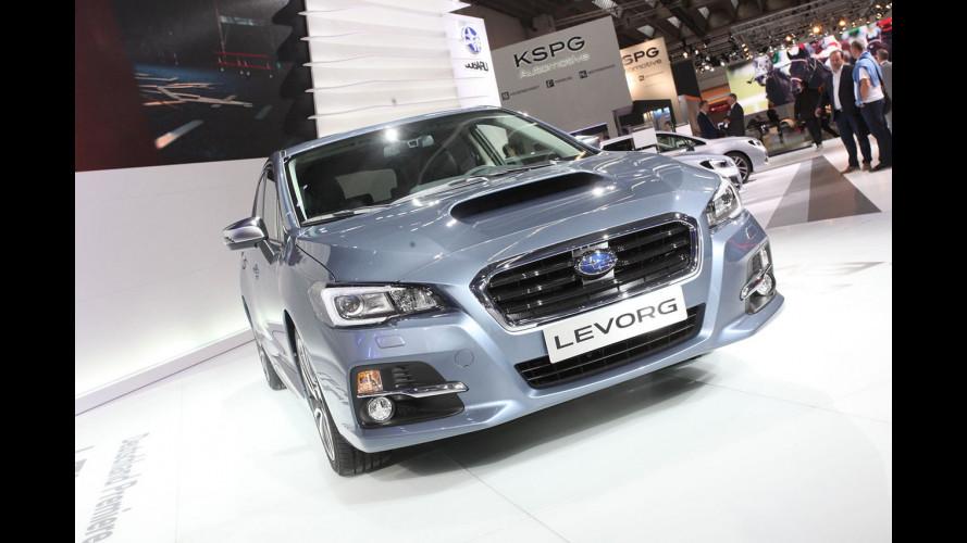 Subaru al Salone di Francoforte 2015