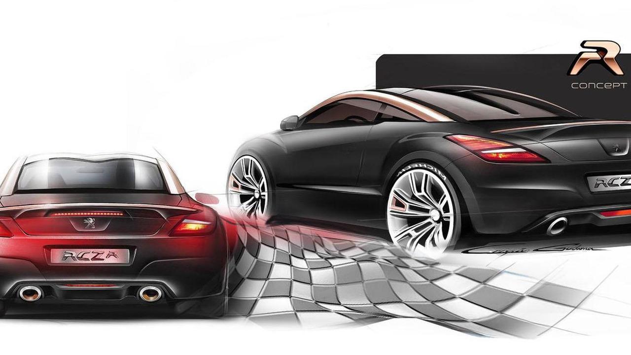 Peugeot RCZ R concept 10.6.2013