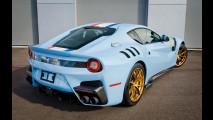 Ferrari F12tdf, azzurra da 1 milione di euro