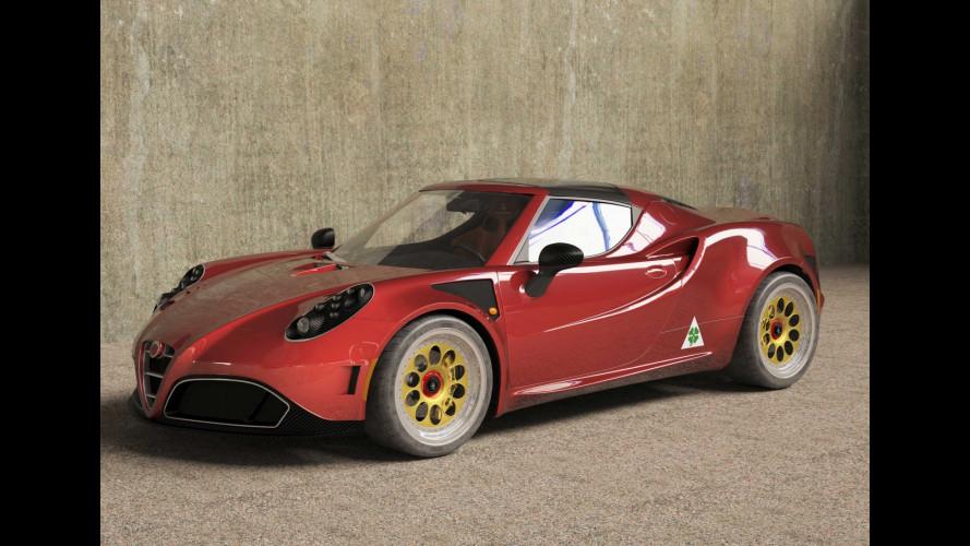 Alfa Romeo 4C by Romeo Ferraris,