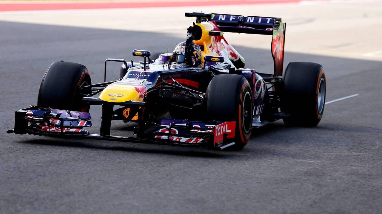 32. El Red Bull Racing RB9 de F1