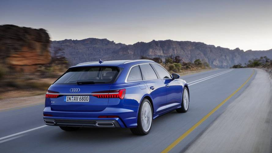 Here's the new Audi A6 Avant