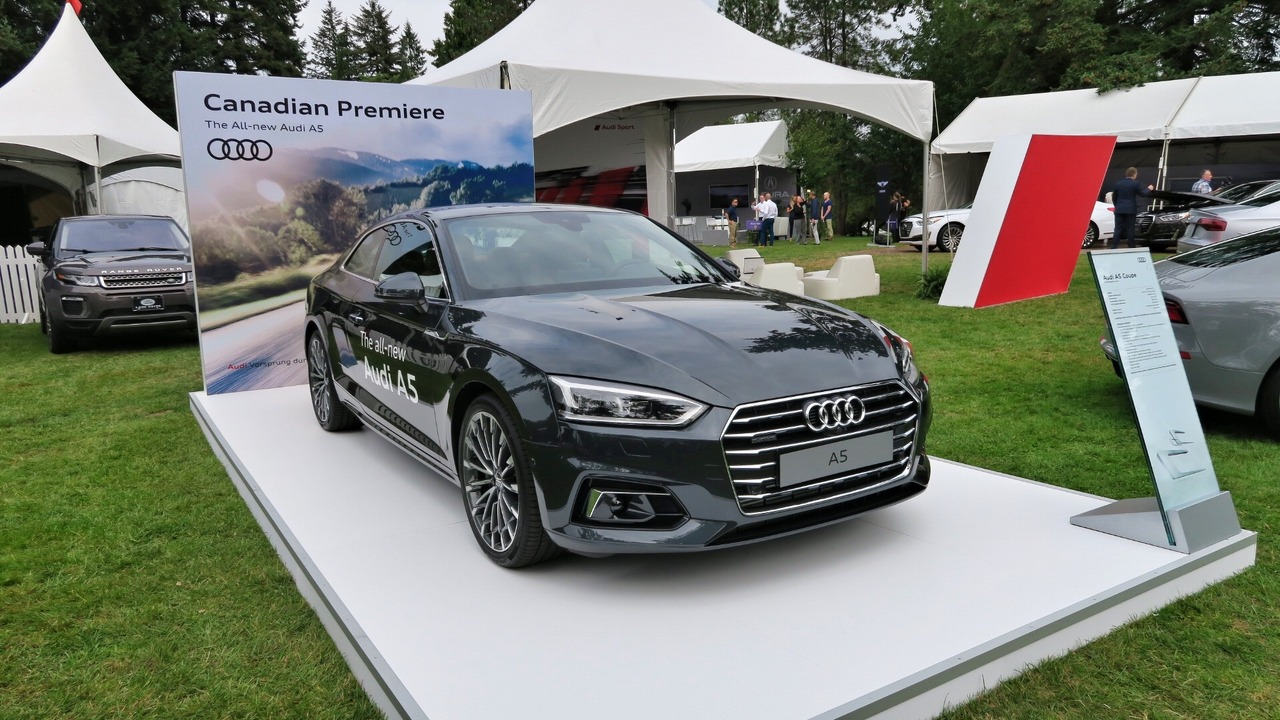 2018 Audi A5 unveiled