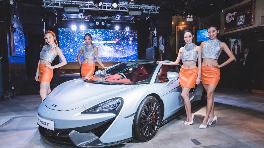 McLaren 570GT, Hong Kong'da tanıtıldı