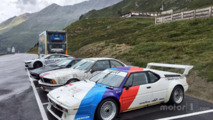 A selection of BMWs for Nelson Piquet Jr.