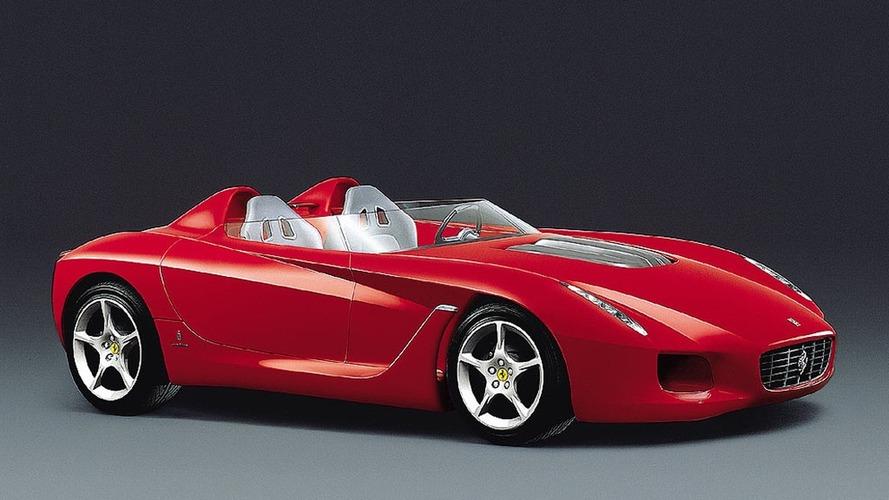 Pininfarina Ferrari Rossa Concept (2000) - Le superbe speedster italien