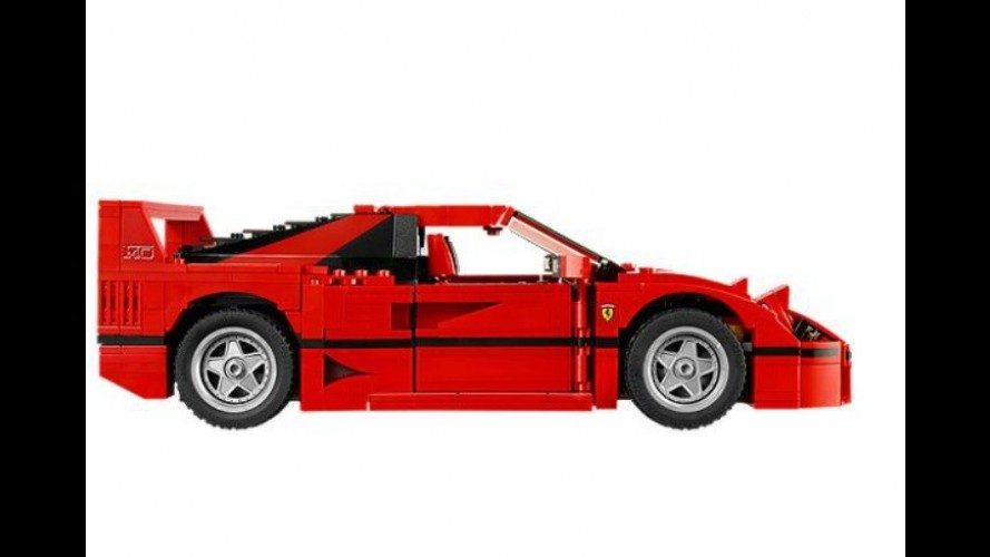 Biz çocukken neredeydiniz? Ferrari F40'ın Lego'su çıktı!