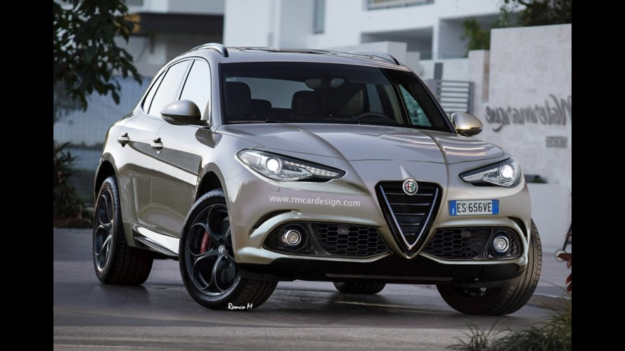 Alfa Stelvio: SUV pode estrear em novembro no Salão de Los Angeles