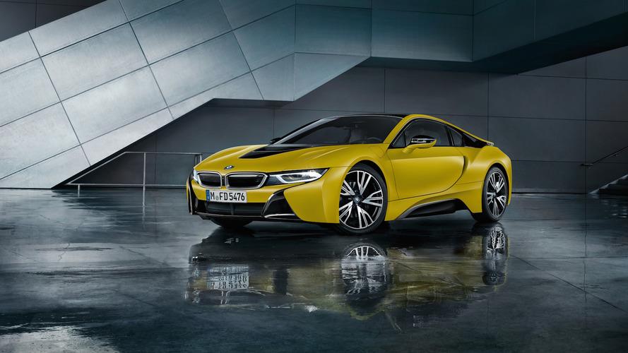 Havalı BMW i8 Frozen Edition'lar Cenevre'de hava atacak