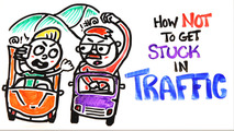 How to avoid getting stuck in traffic