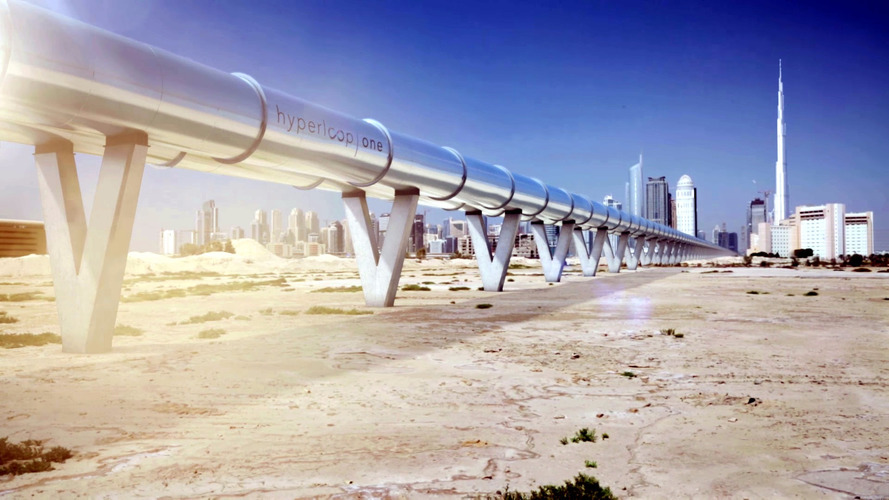 This is what the Hyperloop will look like - possibly