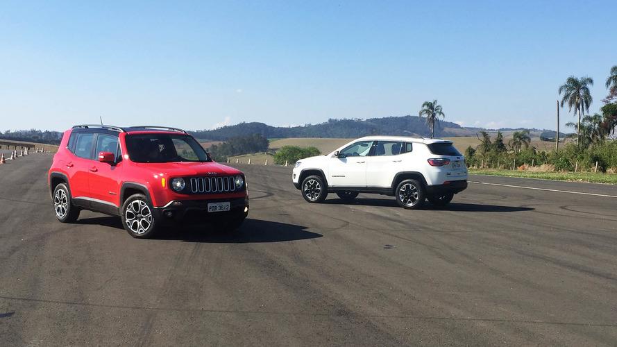 Briga em casa - Jeep Renegade 1.8 Limited ou Compass 2.0 Sport?