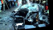 Lamborghini Murcielago destruido Taiwan