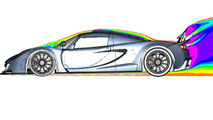 Hennessey Venom GT CFD (computational fluid dynamics) illustrations - 1100