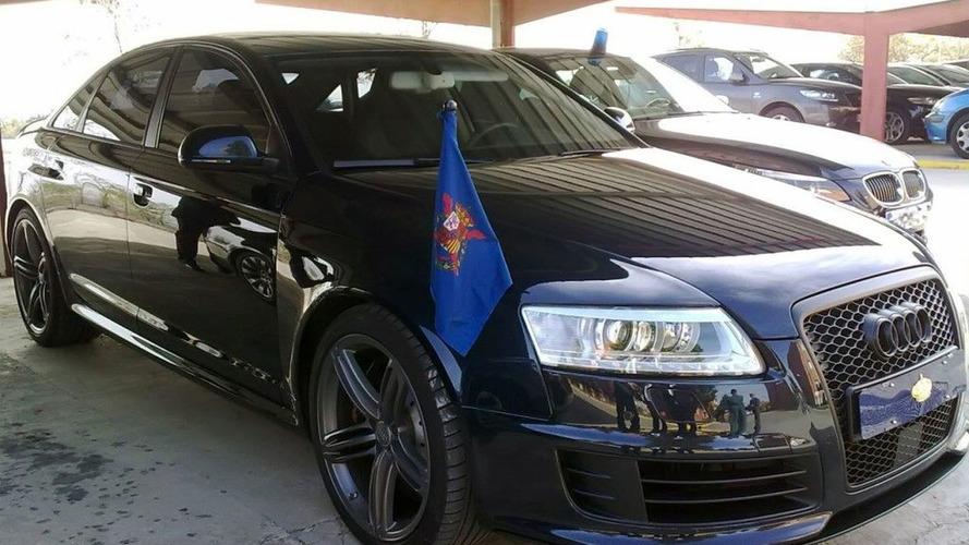 Audi RS6 of the King of Spain, Juan Carlos I.