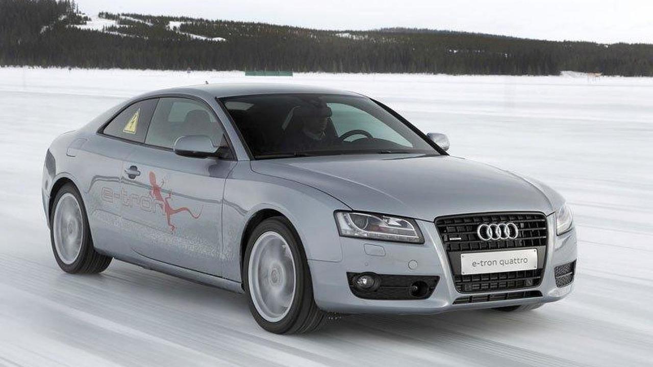 Audi A5 e-tron quattro plug-in hybrid 30.03.2011