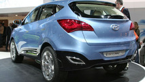 Hyundai ix-ONIC Concept Live Video in Geneva