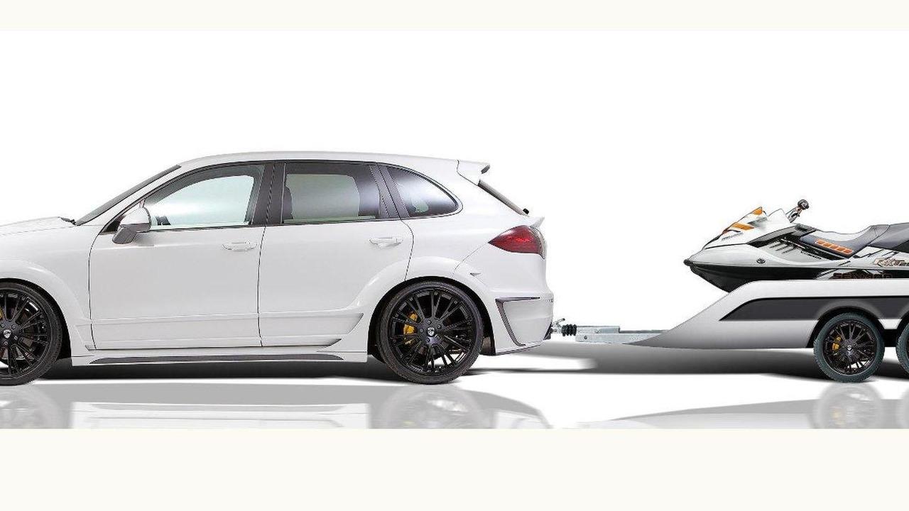 Lumma CLR 558 GT with sport trailer 17.05.2012