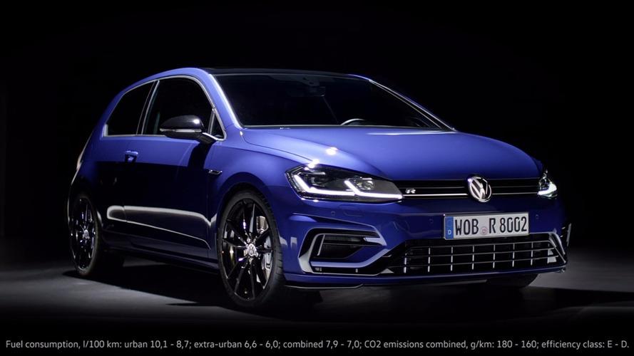 VIDÉO - Volkswagen dévoile la Golf R Performance