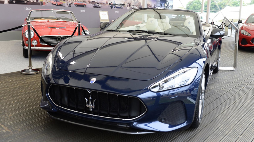 Maserati updates the GranTurismo and GranCabrio