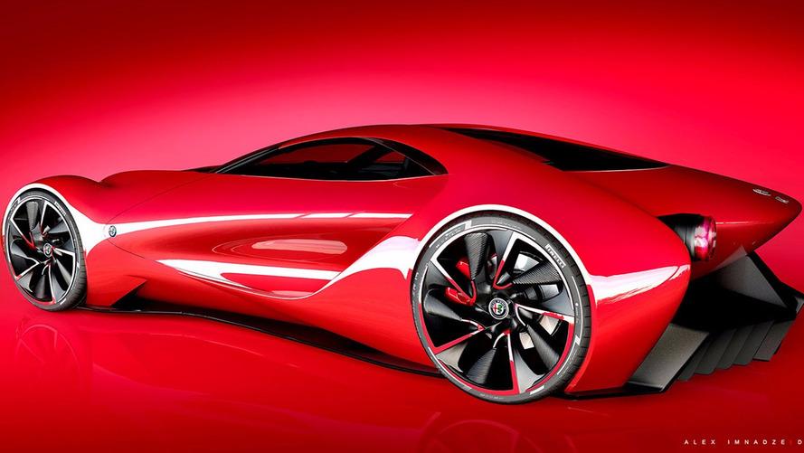 Alfa Romeo 6C DiscoVolante Concept By Alex Imnadze