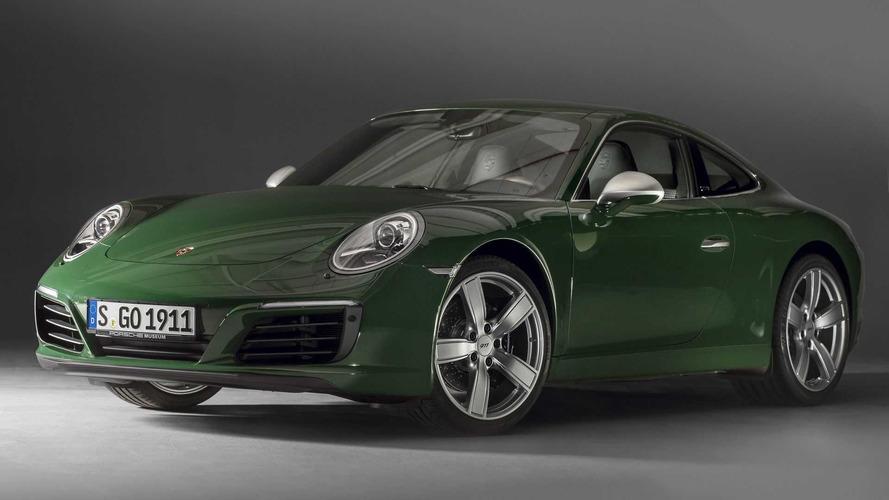 Este Porsche 911 verde marca 1 milhão de unidades do esportivo