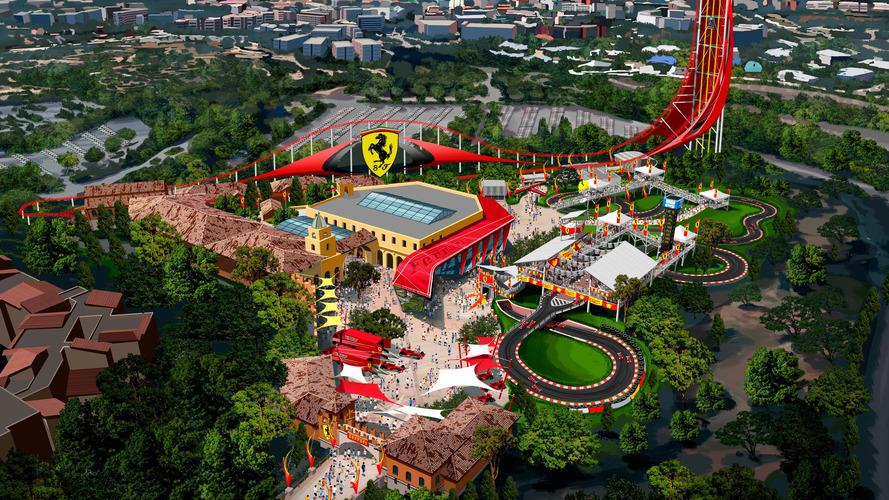 Le parc d'attraction Ferrari ouvre ses portes en Espagne