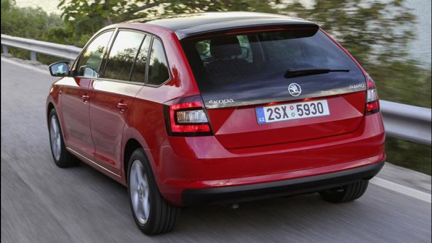 Skoda Rapid Spaceback: la Golf ceca