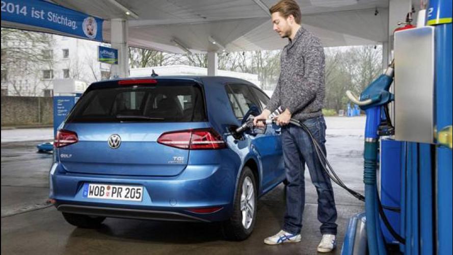 Volkswagen Golf, 1 italiano su 3 sceglie il metano