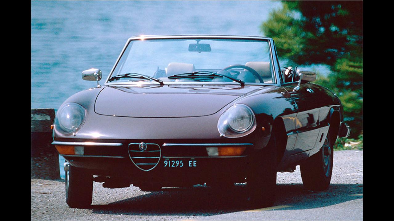Platz 15: Alfa Romeo Spider