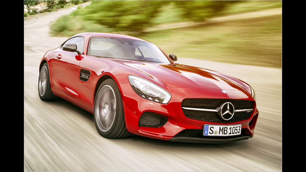 Top: Mercedes-AMG GT