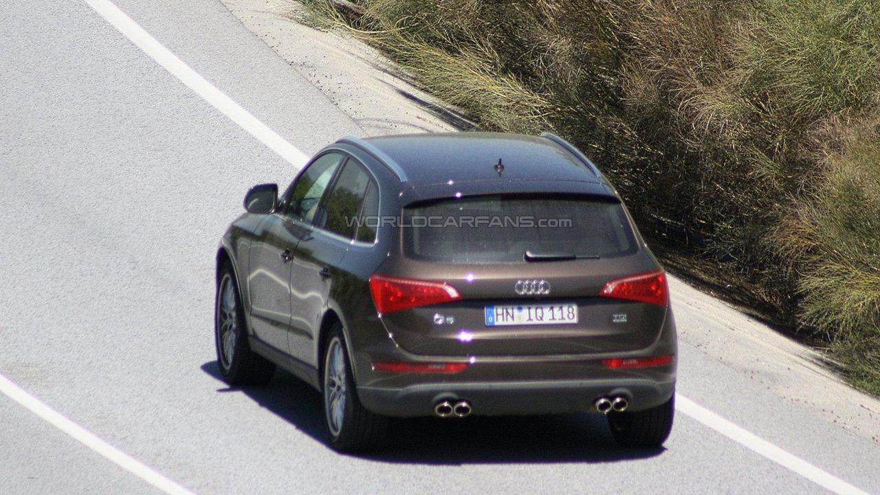 Audi Q5 RS first spy photos 12.05.2011
