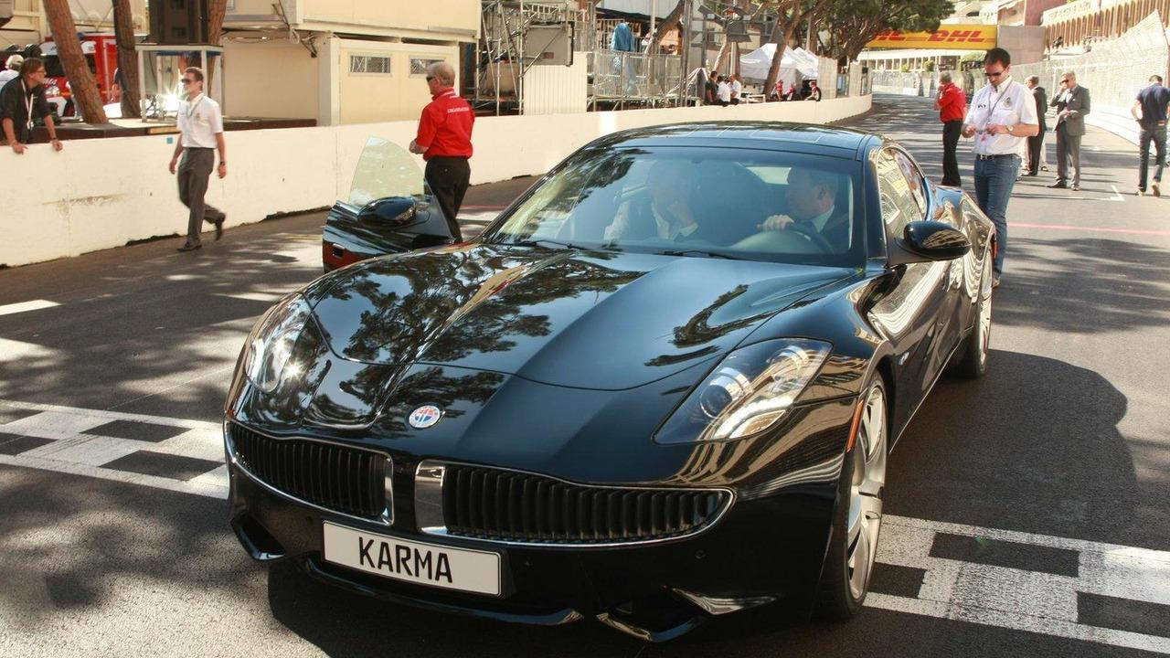Fisker Karma debuts in Monaco 01.06.2011