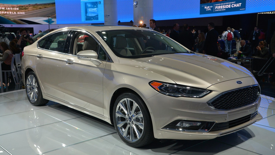 2017 Ford Fusion V6 Sport breaks cover with 325 hp and AWD