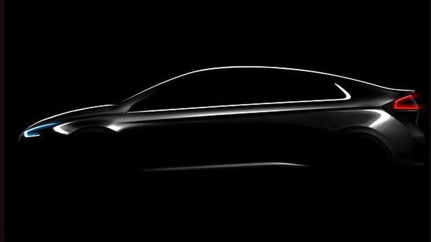 Hyundai IONIQ teased, debuts January 2016 with three powertrains