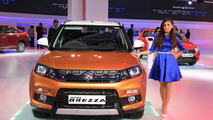 Suzuki Vitara Brezza unveiled at Delhi Auto Expo