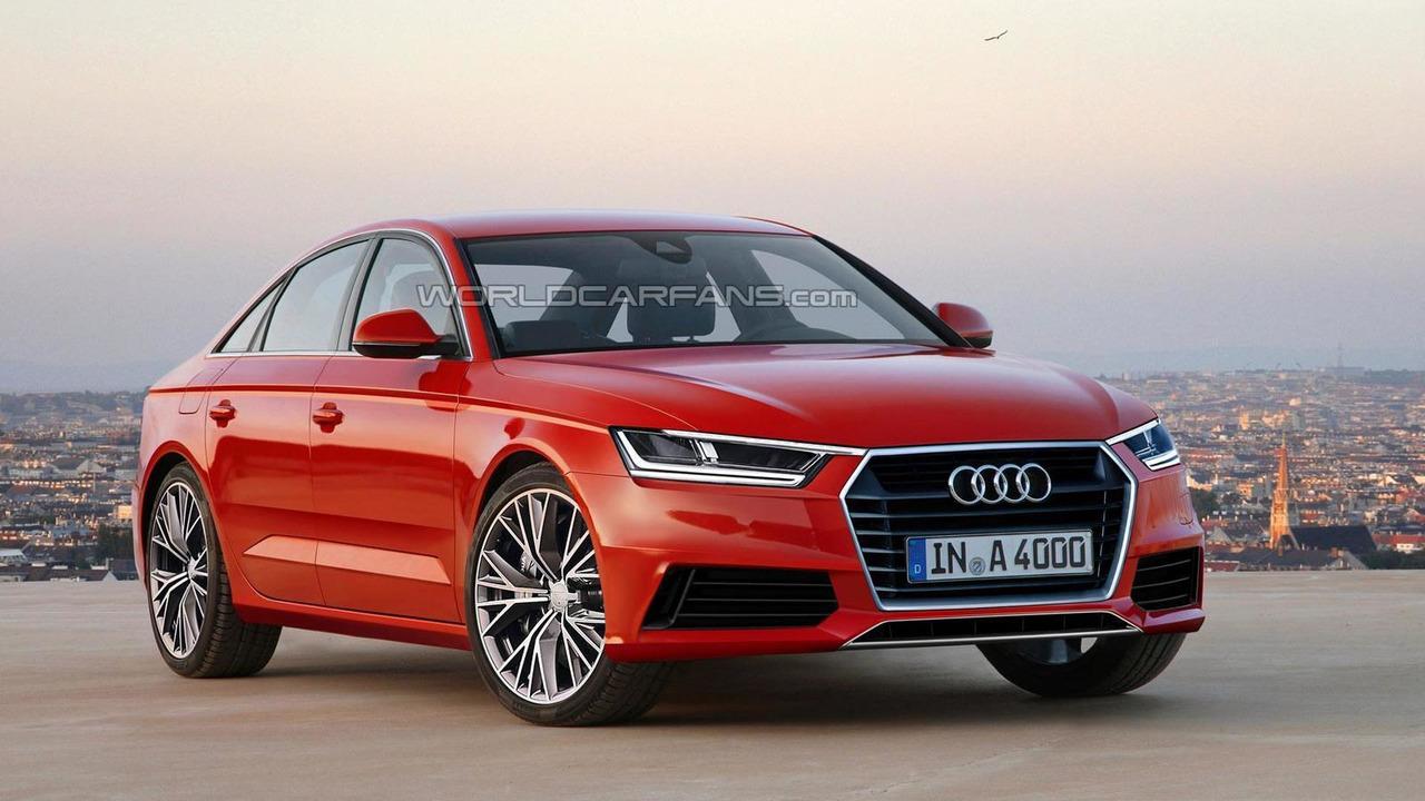 2016 Audi A4 render