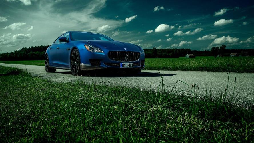 Maserati Quattroporte tuned to 605 PS by Novitec Tridente