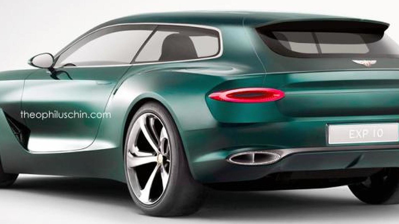 Bentley EXP 10 Speed 6 shooting brake render