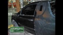 Flagra 4: Leitor flagra a Nova Picape Agile (Nova Montana) com fotos de todos os ângulos